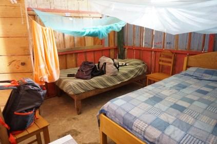 Notre chambre pour une semaine.