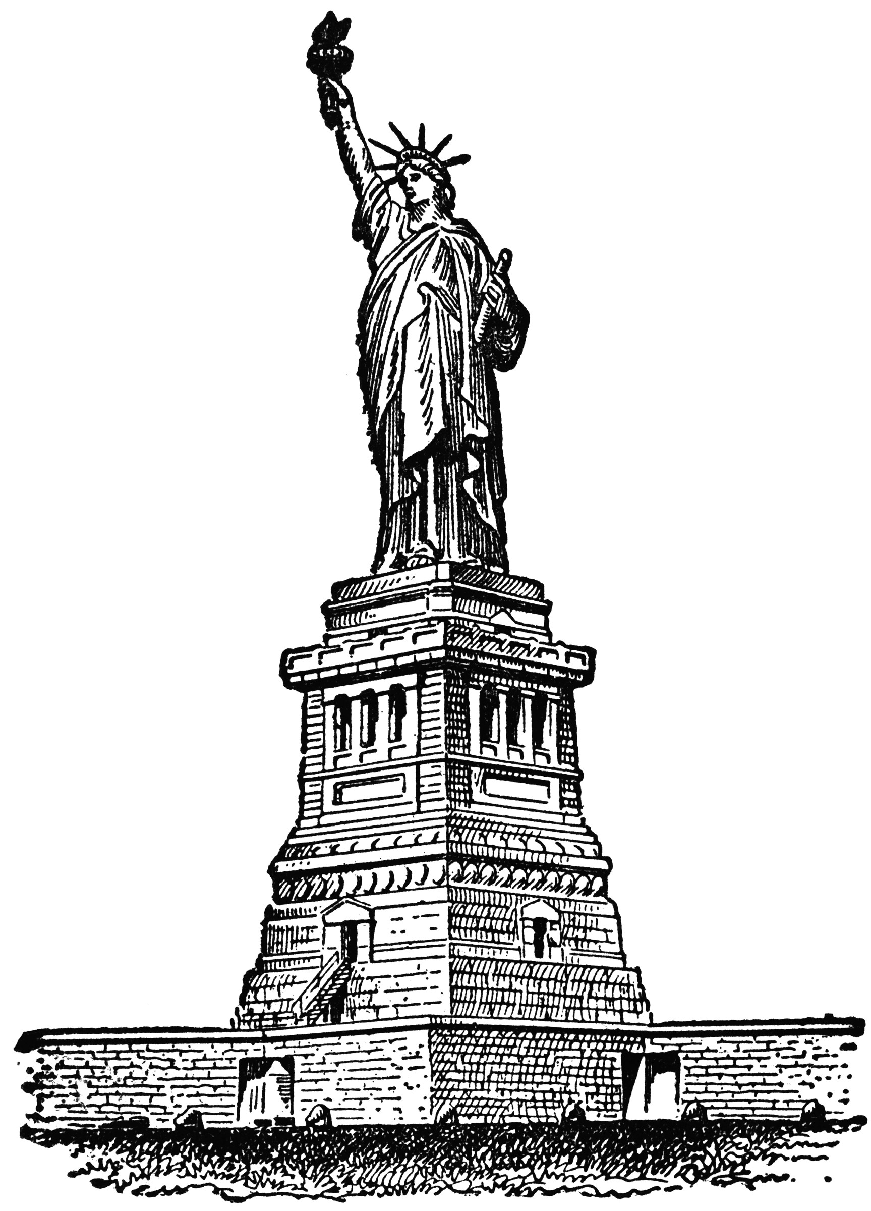 Statue Of Liberty ClipArt ETC