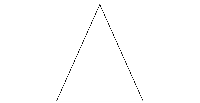 Isosceles Triangle Degrees 48 66 66 Clipart Etc