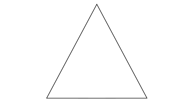 Isosceles Triangle Degrees 56 62 62 Clipart Etc