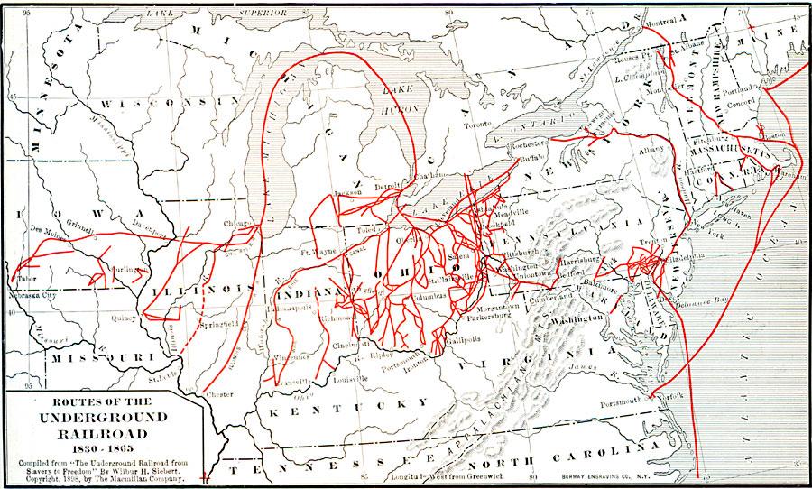 Underground Map Michigan Railroad