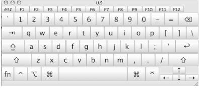 On Screen Keyboard.