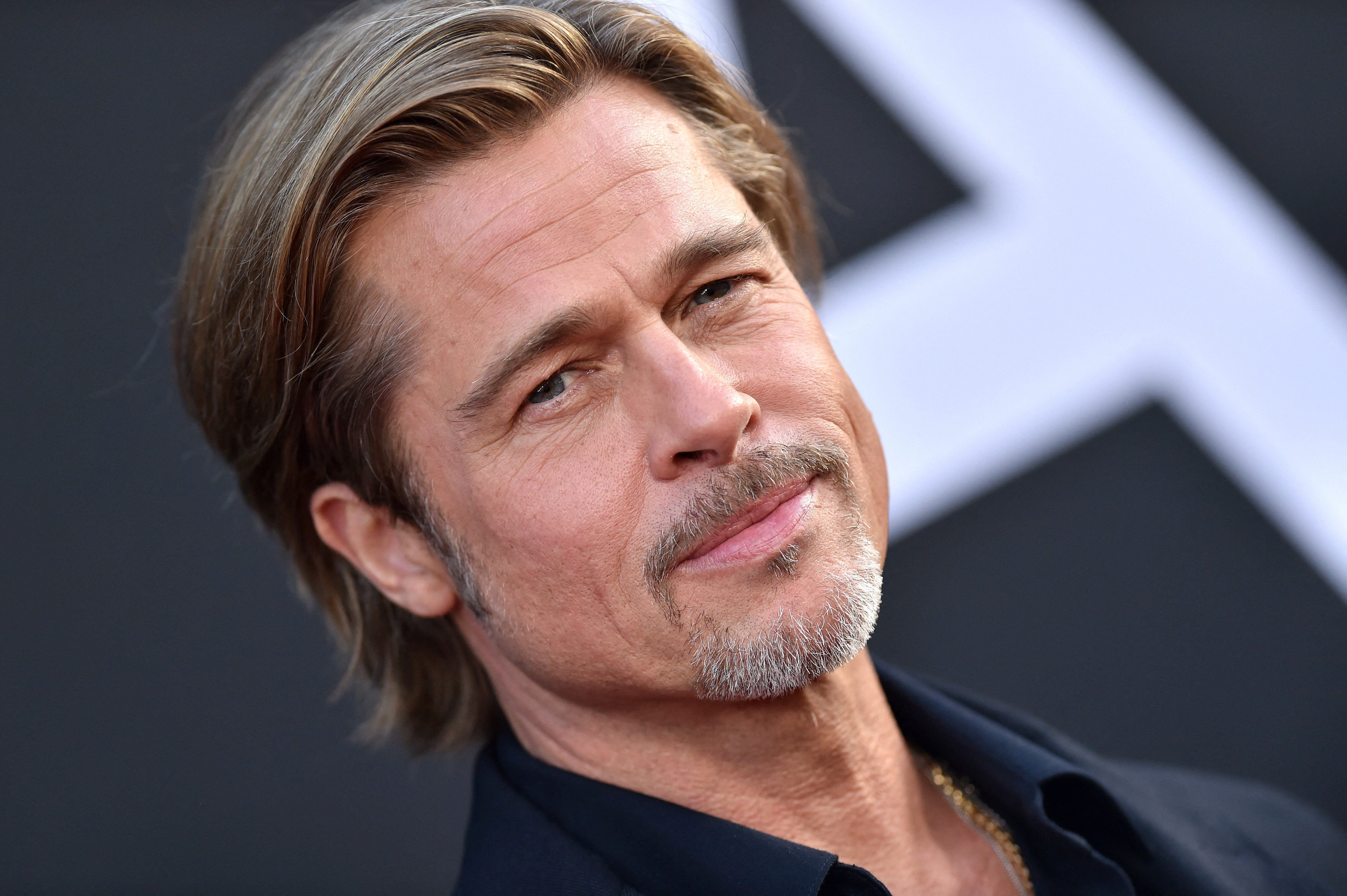 Brad Pitt Looks Bloodied And Bruised Shooting 'Bullet Train' With Joey King In L.A.