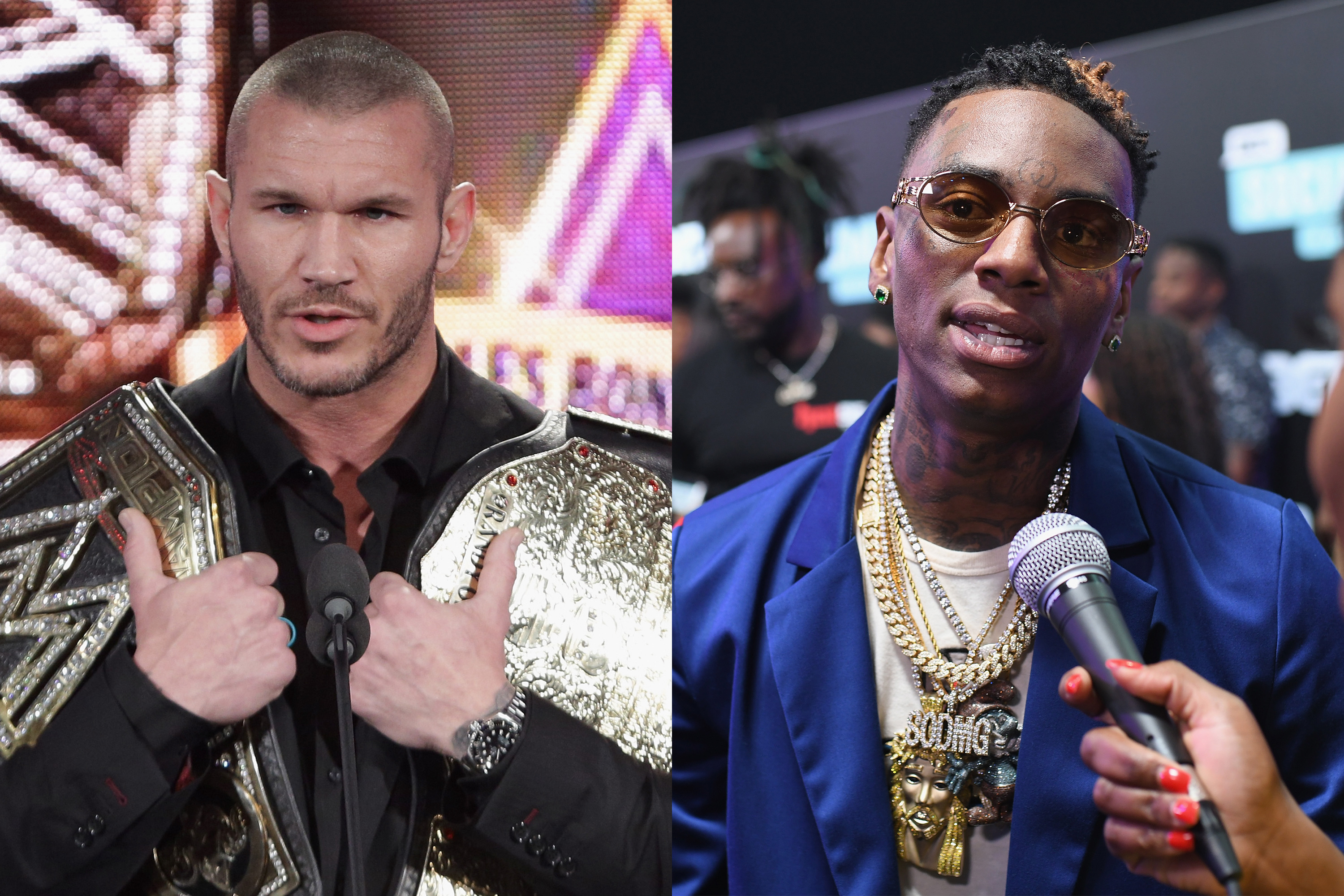 Randy Orton Tells Soulja Boy 'Come To My World And Say That' After Rapper Calls WWE 'Fake'