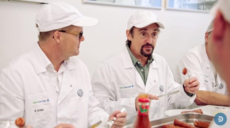 画像:Discovery UK『YouTube』Volkswagen's Factory Produces More Sausages Than They Make Cars Worldwide   Richard Hammond's Bigのスクリーンショット