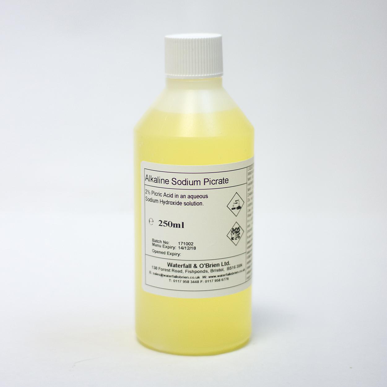 Alkaline Sodium Picrate