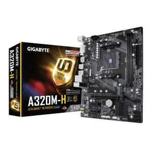 Gigabyte Placa Madre A320M-H Motherboard Socket AM4 Ryzen