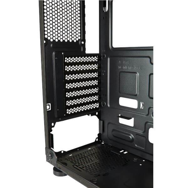 Combo Corsair Gaming Case Gabinete Mid-Tower Serie SPEC-05 y Fuente Poder PSU CV550 550W
