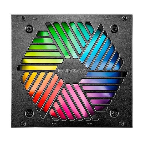 Raidmax PSU RX-700AC-VR Vortex 80 Plus Bronze RGB Fuente de Poder 700W