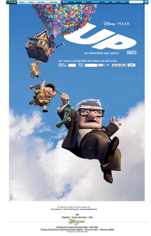 Up one sheet movie poster