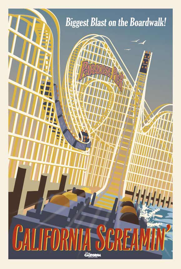 California Screamin' poster