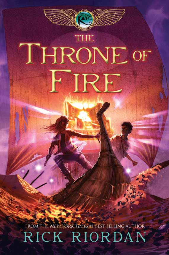 Throne of Fire book cover