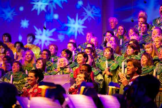 Isabella Rossellini @ Candlelight Processional 2011