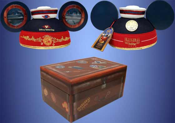 Disney Fantasy Inaugural Sailings limited edition ear hat with box