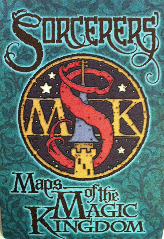 Sorcerers of the Magic Kingdom Map