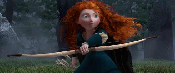 Merida, heroine in Brave