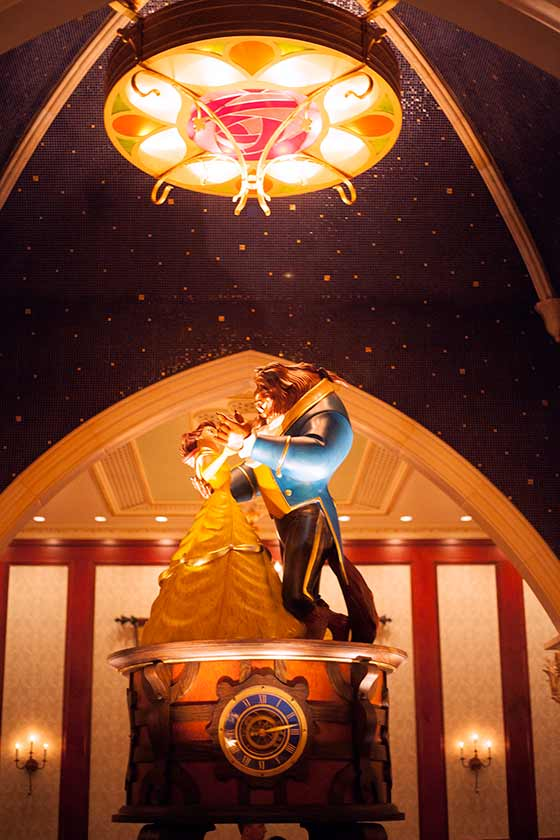 Music Box with Belle and the Beast