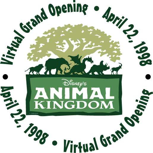 Disney's Animal Kingdom Virtual Grand Opening Logo