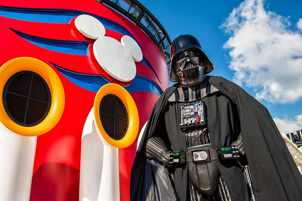 Darth Vader on Disney Cruise Ship