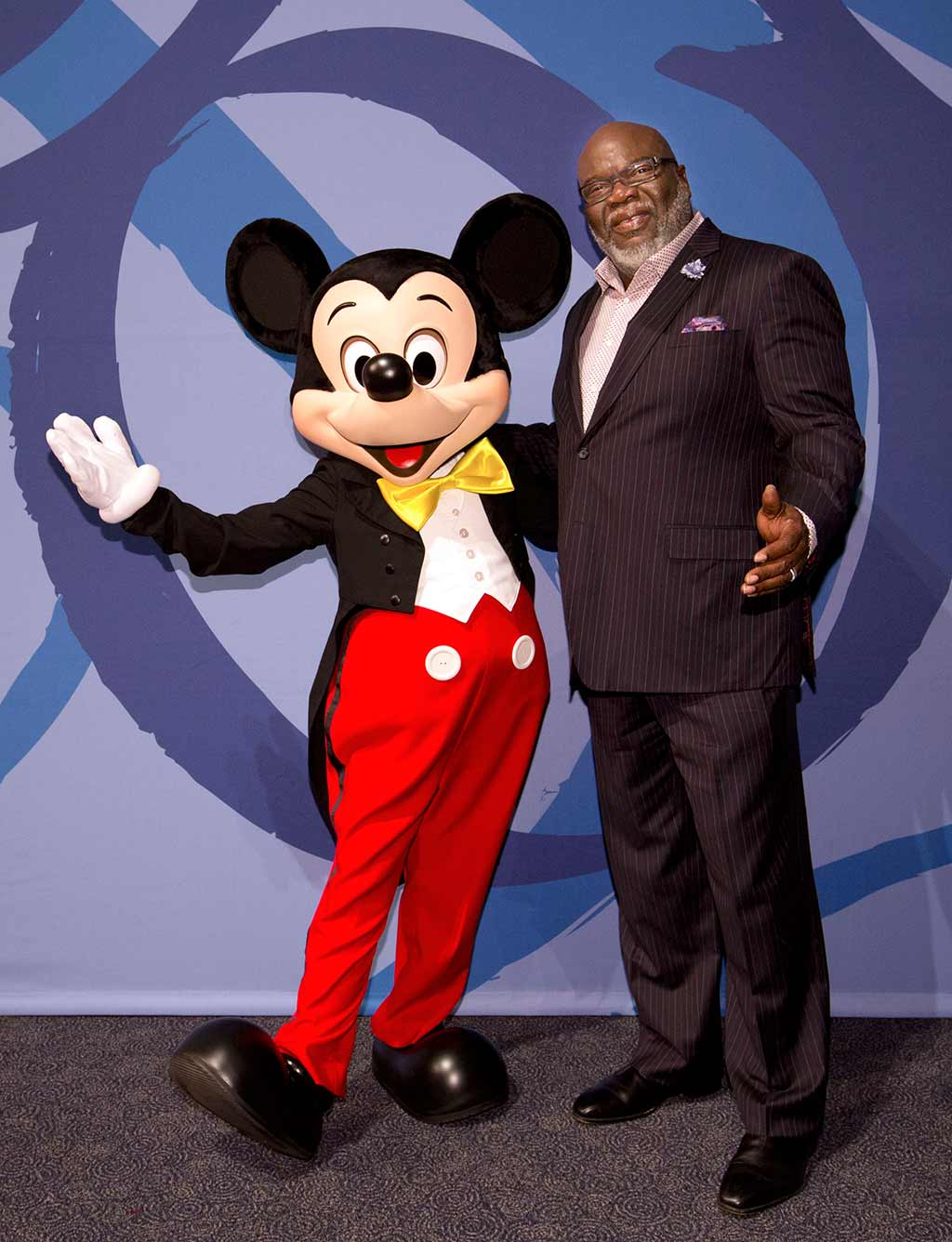 Mickey Mouse and T.D. Jakes