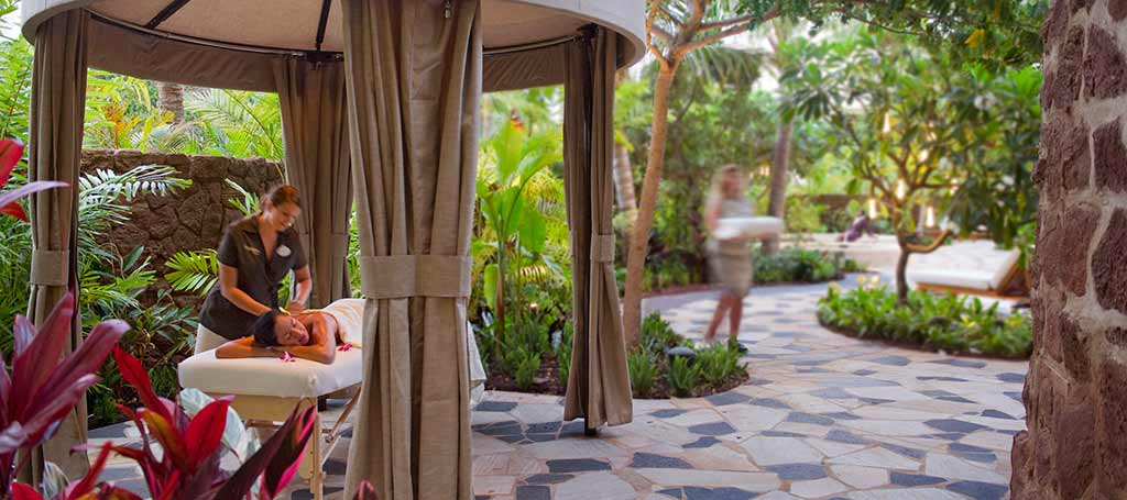 Spa services at Aulani
