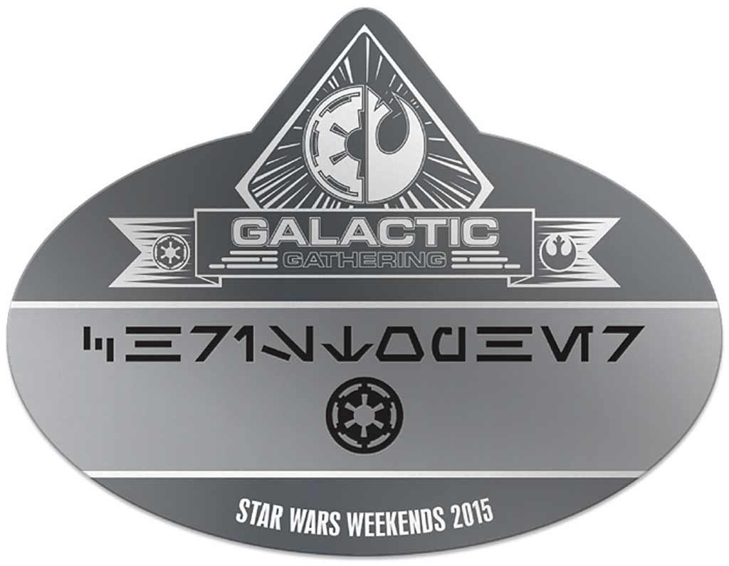 Galactic Gatherings nametag