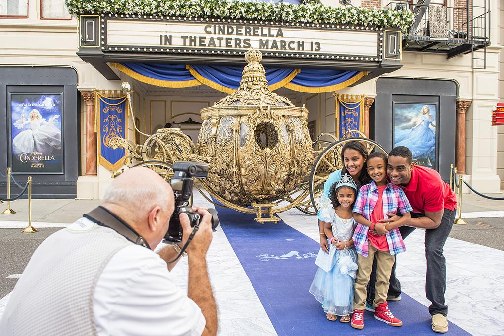 Cinderella's golden carriage at Disney's Hollywood Studios