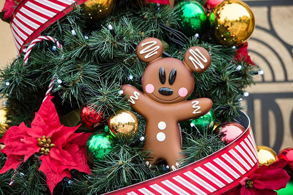 Mickey Mouse Christmas tree ornament