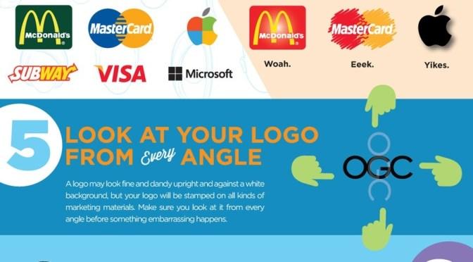 10 cosas que deberías de saber cuando diseñas un logo.