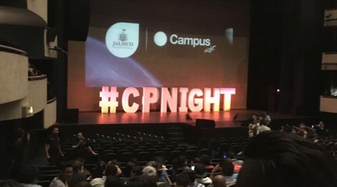 Campus Night las mujeres en las tecnología.