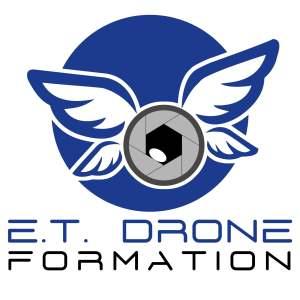ET DRONE - logo HD