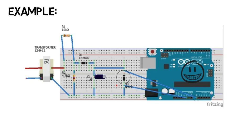 Project 22 Breadboarded Zener Diode Voltage Regulator Circuit