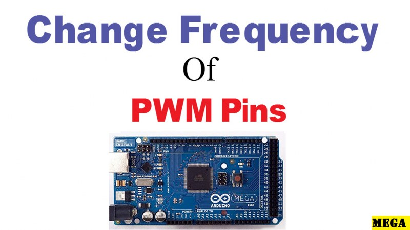 How to change PWM frequency of Arduino Mega
