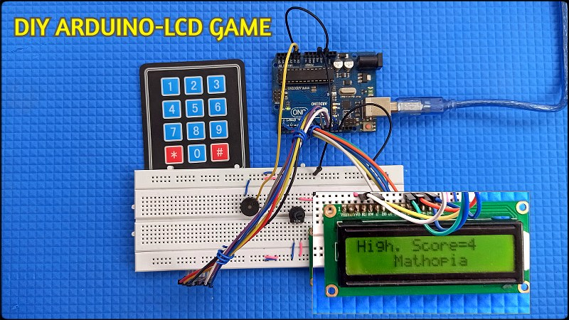 Arduino LCD-Keypad Game