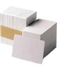 Tarjetas de PVC blanco de 10 mil
