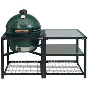 Big Green Egg XLarge Houtskoolbarbecue met Modular Nest System Compleet RVS