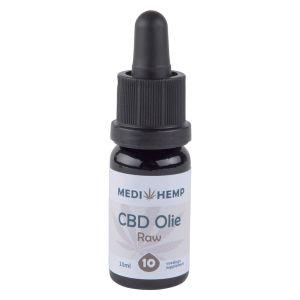 CBD olie raw 10% Medihemp 10ml