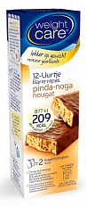 Weight Care 12-uurtjes Maaltijdreep Pinda Noga 2x58gr