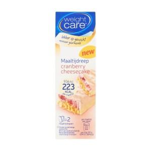 Weightcare Maaltijdreep cranberry cheesecake 2 stuks
