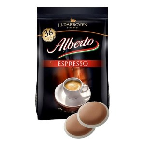 Alberto Espresso koffiepads