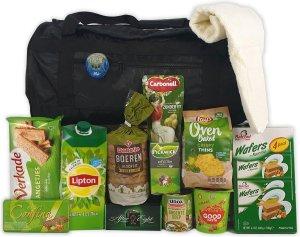 Kerstpakket 13 - Sportief Groen - Met sporttas en stappenteller