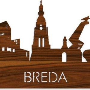 Skyline Breda Palissander hout - 120 cm - Woondecoratie design - Wanddecoratie