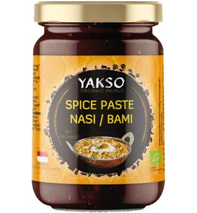 Yakso Spice Paste Nasi Bami (Bumbu Bami Nasi Goreng) Bio (100g)