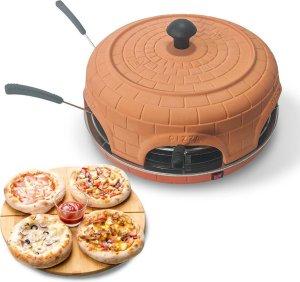 BluMill Pizza oven - 6 Personen - 1100 Watt - Pizzamaker - Incl. deegvorm en spatels