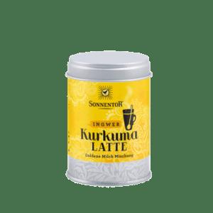 Sonnentor Kurkuma Latte gember 60 g, bio - blikje
