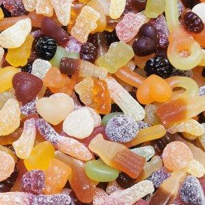 Vegan Snoep Mix 1Kg + 100 gram GRATIS - Voordeelverpakking - Biologisch - Glutenvrij - Gelatinevrij Snoep - Halal Snoep - Veganistisch snoep - Vegan - Traktaties - Uitdeel snoep - Diervrij