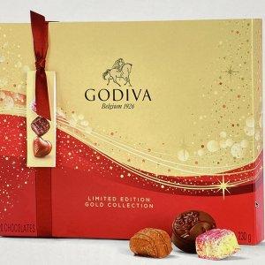 Godiva Kerst Cadeau Limited Edition Sparkles Collectie Chocolade Bonbons/ Pralines - 20 stuks