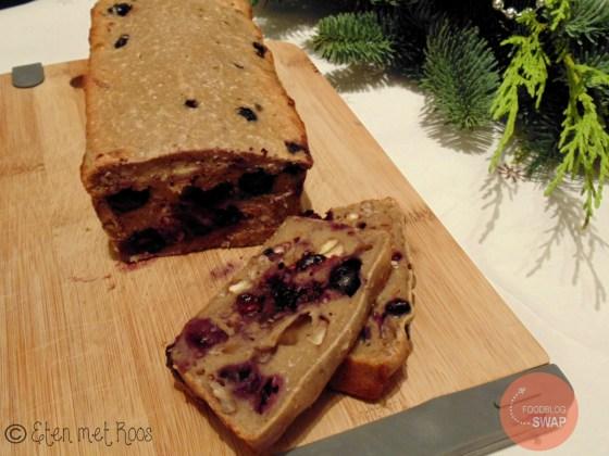 gezond recept bananenbrood blauwe bes pindakaas pecannoot foodblogswap