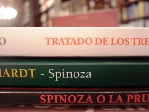 libros de spinoza