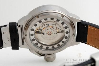 U-Boat IFO Italo Fontana Left Hook Automatic- See Through Case Back